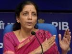 वित्त मंत्री ने घोषित किया 1.45 लाख करोड़ रु का राहत पैकेज