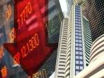 शेयर बाजार : सेंसेक्स 416 अंक की भारी गिरावट के साथ बंद