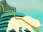 लगातार तीसरे दिन गिरा शेयर बाजार, सेंसेक्स में 202 अंकों की गिरावट