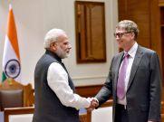 बिल गेट्स ने की PM मोदी के स्वच्छ भारत अभियान की तारीफ