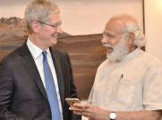 भारत में आई फोन का छोटे पैमाने पर उत्पादन सकारात्मक: कुक