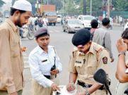 वाहन चालकों ने 10.4 करोड़ रुपए भरे यातायात उल्लंघन के लिए