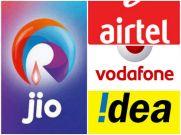 JIO के फ्री एलान के बाद धड़ाम हुए AIRTEL-IDEA के शेयर्स