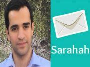 सराहा (Sarahah) यूज करने से पहले पढ़ें यह खबर