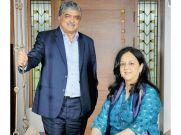 Infosys के नंदन नीलेकणि और पत्नी रोहणी ने दान किया संपत्ति