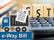 आज से ई-वे बिल का ट्रायल शुरु