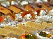 रक्षाबंधन के अवसर पर बाजार में आई सोने की मिठाई