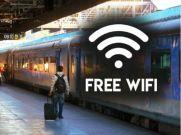 ट्रेन में भी अब यात्रियों को मिलेगी मुफ्त वाई-फाई की सुविधा