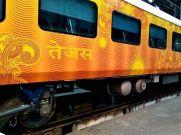 तेजस ट्रेन को पहले महीने 70 लाख का हुआ फायदा
