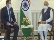 PM Modi ने अमेरिकी दौरे के पहले दिन की 5 सीईओ से मुलाकात