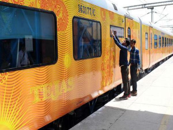 160 के स्पीड से चलेगी नई ट्रेन तेजस, 22 मई से दौड़ेगी पटरी पर