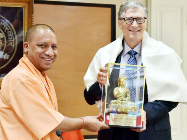 UP सीएम योगी से मिले बिल गेट्स, भारत की GDP को लेकर कही बड़ी बात