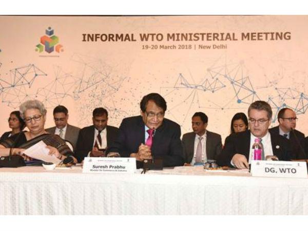 दिल्ली में WTO की मंत्रिस्तरीय बैठक में 52 देशों की ओर से विचार विमर्श शुरु