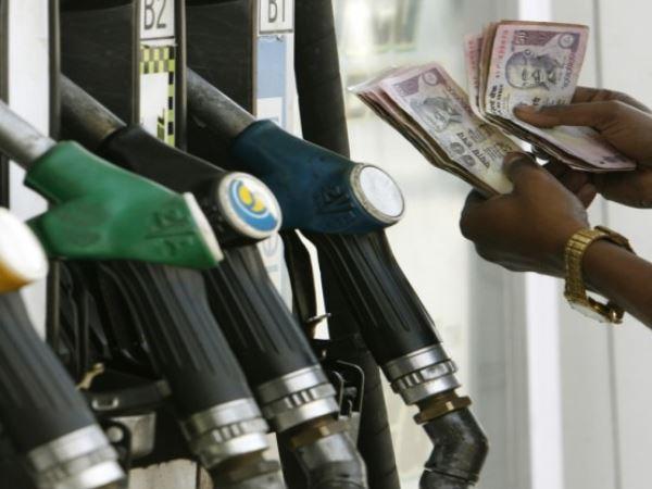 लगातार पांचवे दिन कम हुए पेट्रोल और डीजल के दाम