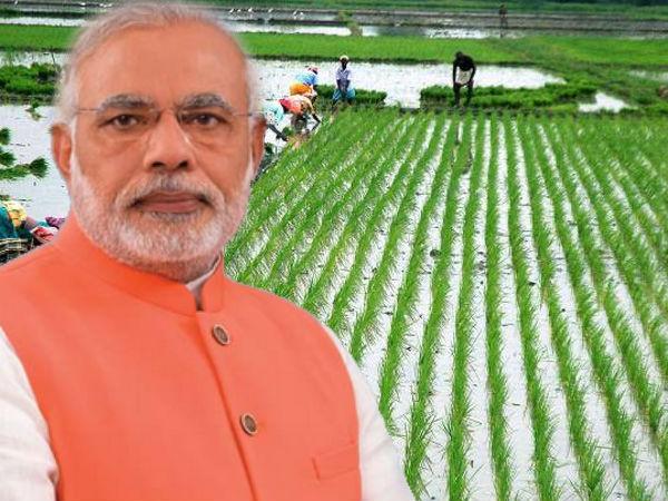 किसानों की आय 2020 तक दोगुनी करने का लक्ष्य