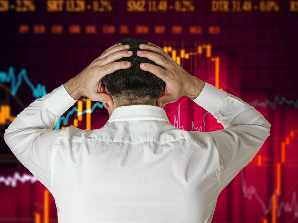 मौद्रिक दर के आने से पहले लुढ़का बाजार, सेंसेक्स 200 अंकों तक गिरकर खुला