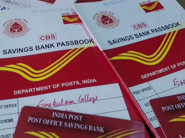 Image result for post office saving account