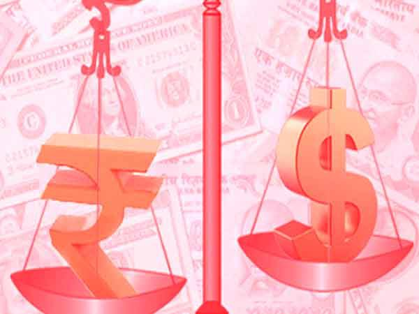 बिना किसी बदलाव के dollar के मुकाबले Rupee खुला