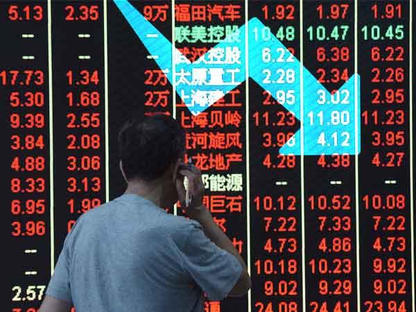 शेयर बाजार में गिरावट, सेंसेक्स 55 अंक गिरकर खुला