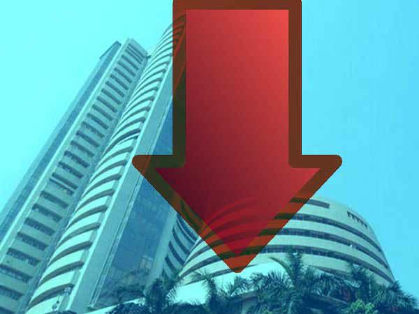 शेयर बाजार में हाहाकार, सेंसेक्स 1448 अंक टूटकर बंद