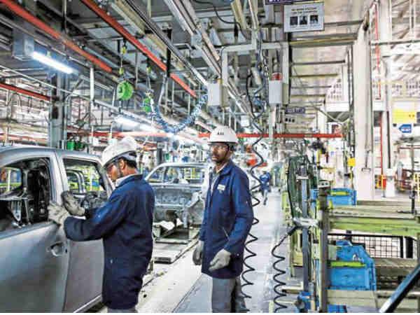 अर्थसंकल्पाच्या दिवशी चांगली बातमी, कारखान्याच्या कामात सुधारणा झाली