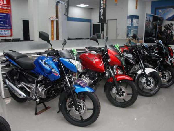 बजाज स्वस्त मोटारसायकली २.१० लाख रुपयांवरून स्वस्त: