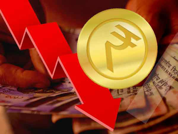 25 October : डॉलर के मुकाबले रुपये में गिरावट, 8 पैसे टूटा