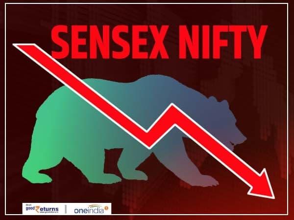 Sensex में फिर गिरावट का दौर, 336 अंक लुढ़का