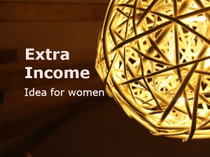 Small Business Idea Women Earn Money Extra Income