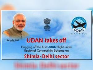 Pm Modi Flags Off First Udan Scheme
