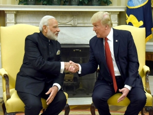 Pm Modi Meet President Trump First Bilateral Summit