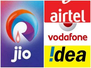 Airtel Idea Share Down After Jio New Announcement