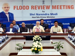 Pm Modi Announced Relief Package Over Rs 2000 Crore Flood