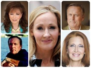Top 10 Authors Net Worth List Richest Authors Success Story