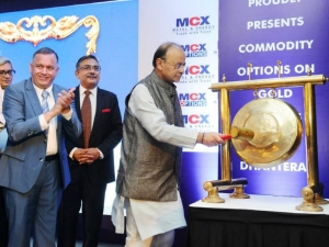 Arun Jaitley Launches Gold Options On Mcx On Dhanteras Diwali
