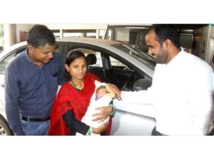 Ola Gifted Woman Newborn Baby 5 Year Free Ride