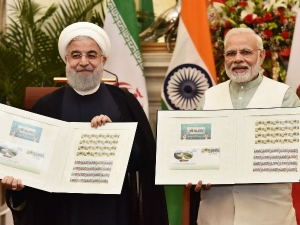 Pacts Between Iran Ties India Get Control Key Chabahar Port