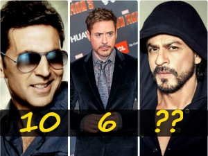List Top 10 Highest Paid Actors World