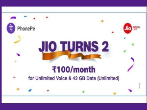 Jio Offering Rs 100 Per Month With Unlimited Data And Free Calls