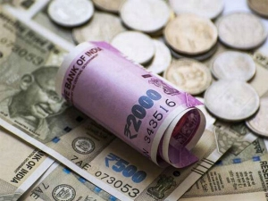 Indian Rupee On Record Low Of 73 76 Per Dollar
