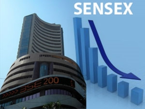 Sensex Cracks Nearly 350 Points Nifty Gives