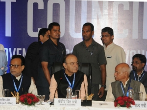 Gst Council Meeting Arun Jaitley Leads Meeting Rate Cut Relaxation In Gst Slab