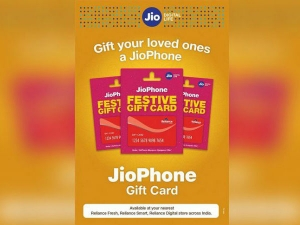 Reliance Jiophone Gift Card With Unlimited Call Data Benefits For 6months