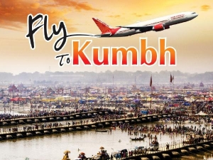 Air India Announce Start New Flight Kumbh