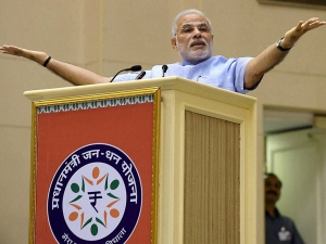 Prime Minister Jan Dhan Yojana 35 99 Crore Accounts Were Opened In Banks