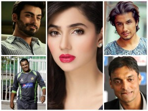 Pakistani Actors Cricketers Worked India