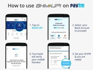 How Use Bhim Upi On Paytm