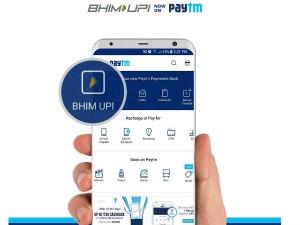 Paytm Launches Bhim Upi On Its Platform
