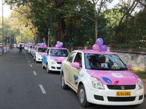 Special Cab Service Started Women At Bangalore Internatonal Airport