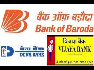 Cabinet Approves Merger Vijaya Bank Dena Bank With Bank Baroda